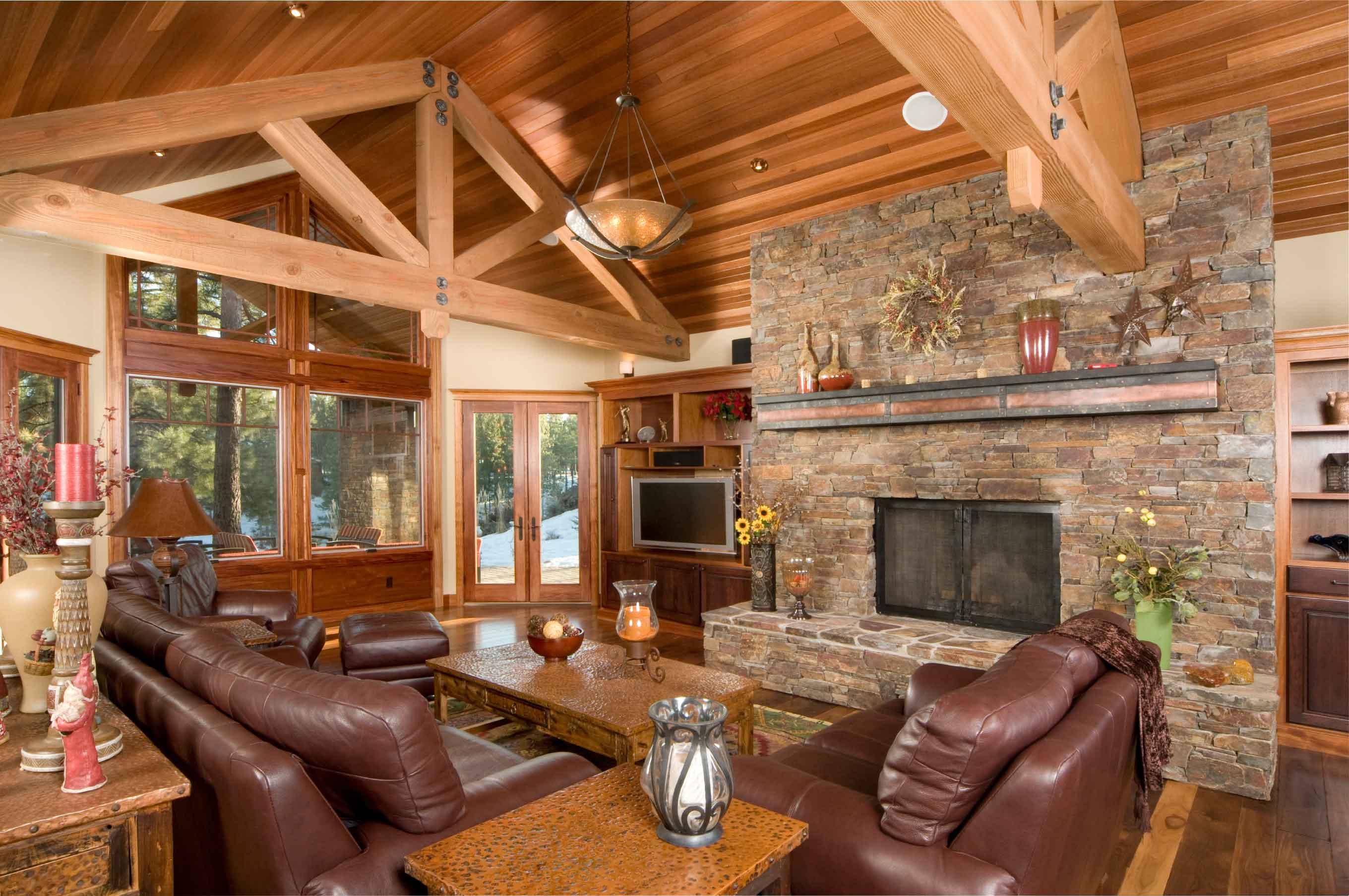 Muskoka luxury cottages in lake of bays full lake of for Luxury cottage homes